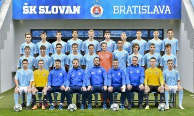 Hecko nell'Under 17 dello Slovan
