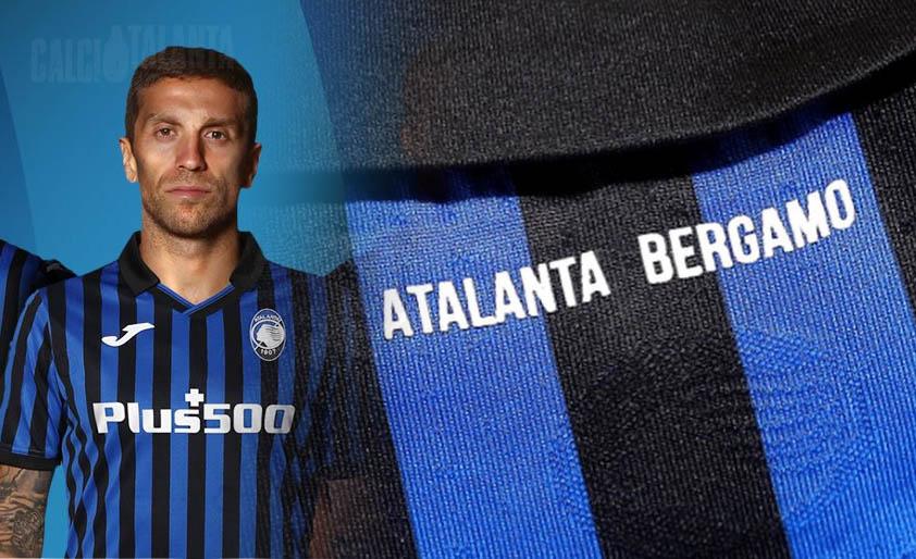 L'Atalanta e quel dettaglio sulla maglia: