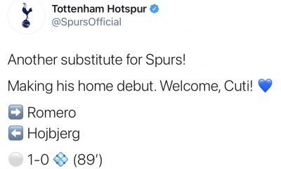 Romero Tottenham